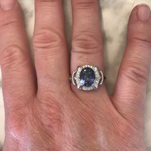 Jewelry - Ring with blue stone